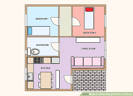 how to draw blueprints for a house 9 steps with pictures