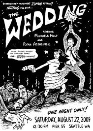 zombie wedding invitations the wedding specialiststhe wedding