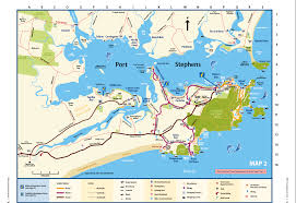 Shark Map Of The World by Port Stephens Map Imagine Cruises