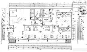 100 floor plan for hotel kitchen architecture planner cad