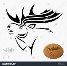 moose vector illustration stock vector 115273531 shutterstock