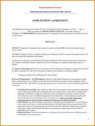 Termination Of Employment Notice Template by 10 Sample Of Employee Contract Quote Templates