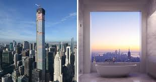 breathtaking 95 million penthouse rises 1 369 ft above new york city