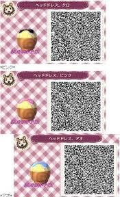 acnl hair qr codes a collection of cute qr codes acnl pinterest ghiaccio nota