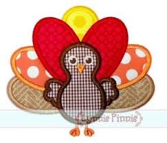 thanksgiving turkey applique 4x4 5x7 6x10 svg welcome to lynnie