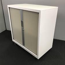 Tambour Door Cabinet Tambour Door Cabinet With Castors 900w X 980h X 500d 16
