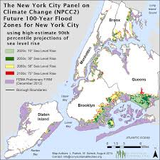 New York Map With Cities by Nasa Science Leads Nyc Climate Change 2015 Report Nasa
