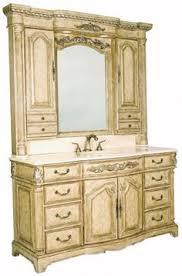 antique bathroom vanities made from hutches vanity single
