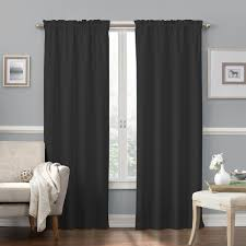 faux suede thermaback blackout window curtain