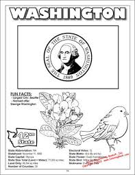 washington state flag coloring pages coloring pages ideas