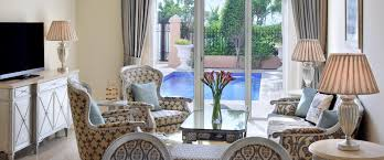 2 bedroom hotel suite with individual pool in dubai kempinski