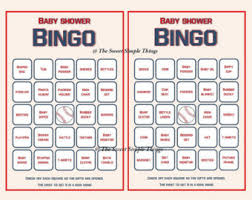 printable bingo card etsy