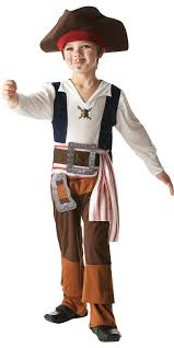 Halloween Jack Sparrow Costume Boy U0027s Pirate Captain Jack Sparrow Pirate Caribbean Kids Fancy