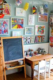 Home Art Gallery Design 21 Ways To Display Kids Artwork Honor Creativity U0026 Manage The Piles