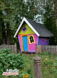 kids playhouse plans turned into a tool shed