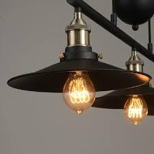 Retractable Light Fixtures Industrial Vintage Edison Pulley Pendant Lights Adjustable Wire