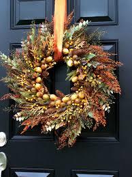 autumn wreath for thanksgiving winter farm autumn wreath