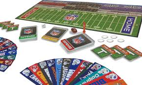 Nfl Usa Map by Amazon Com Nfl Game Day Board Game Toys U0026 Games