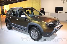 renault duster 2014 white auto expo live renault duster adventure edition