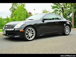 2007 infiniti g35 6 speed manual moon roof leather for sale in