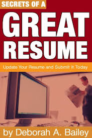 Resume Update Amazon Com Secrets Of A Great Resume Update Your Resume And