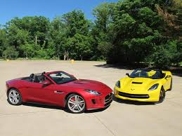 all types of corvettes the mighty corvette stingray faces against the stunning jaguar