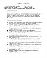 substitute resume exle preschool assistant description resume exle science