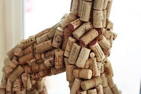 diy wine cork sculpture art