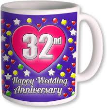 32nd wedding anniversary 50 on photogiftsindia gifts for 28th wedding anniversary