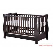 Sleigh Cot Bed White Uberchild Baby Cots And Cot Beds Available Now On Uberchild Com