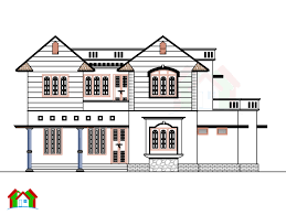 Homeplan by 2200 Square Feet Home Plan Architecture Kerala