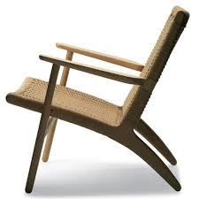 Hans Wegner CH Chair In Natural Oak By Carl Hansen Stardust - Hans wegner chair designs
