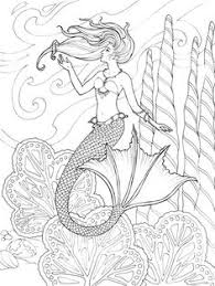 beautiful mermaid coloring pages 16 beautiful mermaids pdf format and sizeed for 8 5 x 11 u2033 paper so