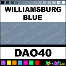 williamsburg blue americana acrylic paints dao40 williamsburg
