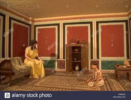 villa interiors reconstruction of family life roman villa interior ipswich museum