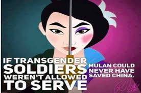 Transvestite Meme - someone said mulan was transgender and it really pissed off a load