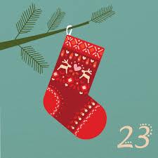 illustrated advent calendar day 23 caroline alfreds advent
