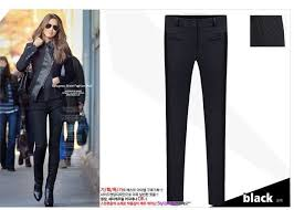 womens black skinny dress pants photo 3 all women dresses