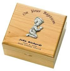 baptism jewelry box baptism jewelry box boys baptism maple wood keepsake box