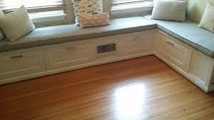 bench build a banquette storage bench how to build banquette