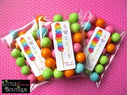 gumball party favors sweet shoppe party planning inspiration