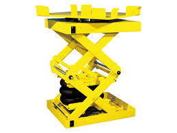 knight global double scissor lift tables
