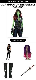 gamora costume easy steps to make your gamora costume ready for kids and adults