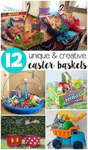 ideas for easter baskets unique easter basket ideas for kids lil moo creations