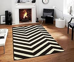 Black Chevron Area Rug Century Collection Chevron Rugs Large 8x11 Black And