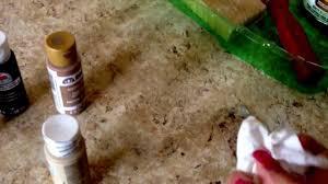 Painting Laminate Countertops Kitchen Diy Faux Granite Kitchen Countertops Youtube