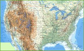 Wisconsin Usa Map by Large Detailed Map Of Usa With Cities And Towns