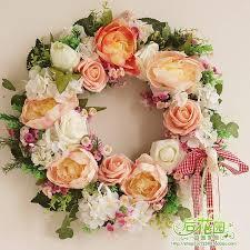 quality fashion artificial flower decoration garland wedding