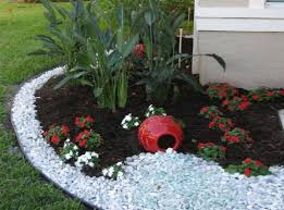 garden ideas black lava rock for landscaping rock for