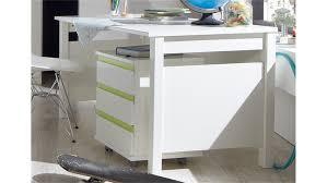 Schreibtisch Rollcontainer Mit Rollcontainer Jugendzimmer Bibi Weiß Und Apfelgrün